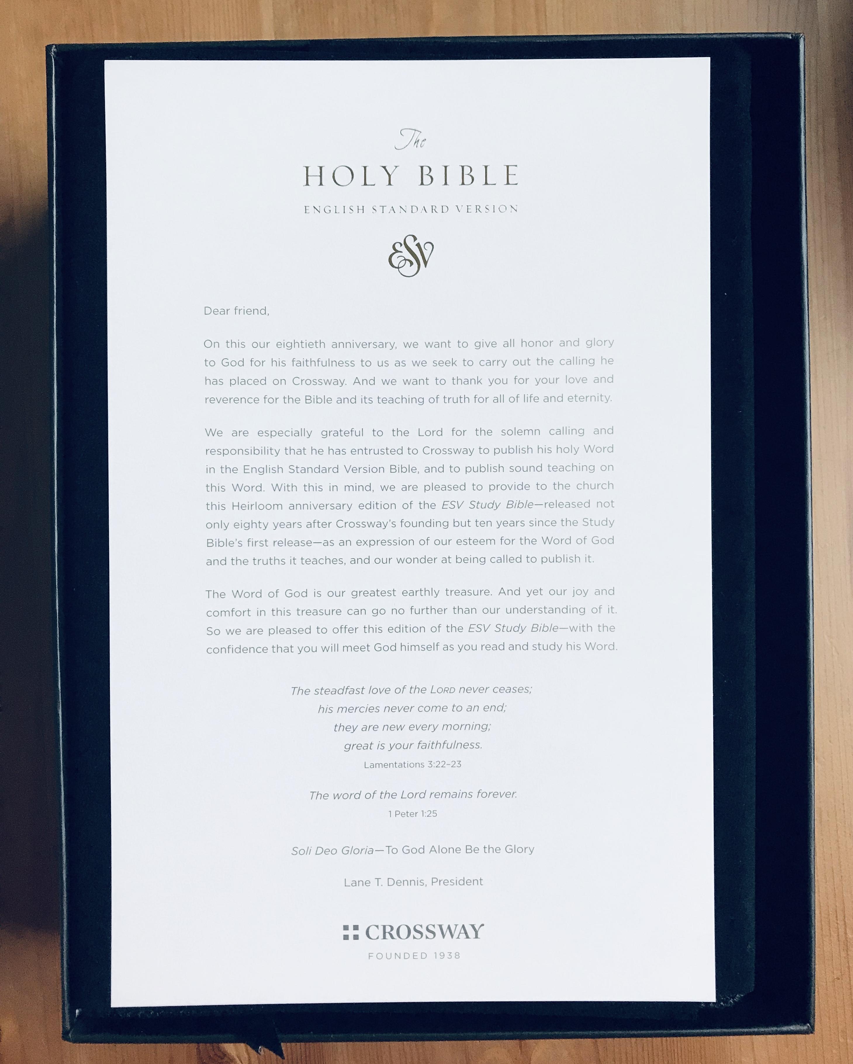 Esv Bible Word Document